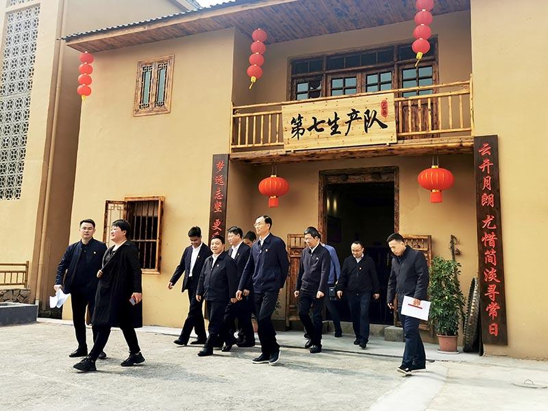 江西省委副书记叶建村莅临基地调研